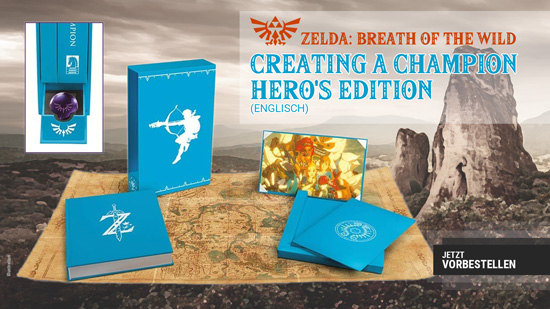 The Legend of Zelda - Breath of the Wild - Creating a Champion - Hero'S Edition